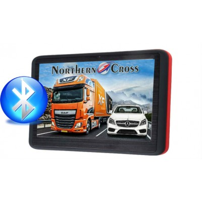 GPS НАВИГАЦИЯ NORTHERN CROSS NC-512S EU FM BT AV IN