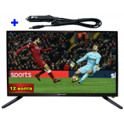 "22"" TV LED LCD CROWN 22133 12-220V"